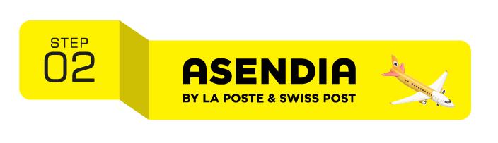 Asendia Shipping Process - Step 2